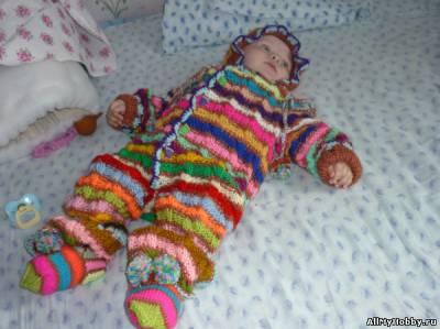 Вязание крючком. для малышей все самое лучшее. детский комбинезон...